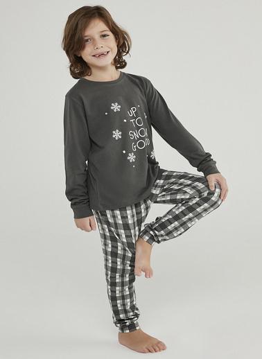 Penti Çok Renkli Erkek Çocuk Hot Tech Snow Good 2Li Pijama Takımı Renkli